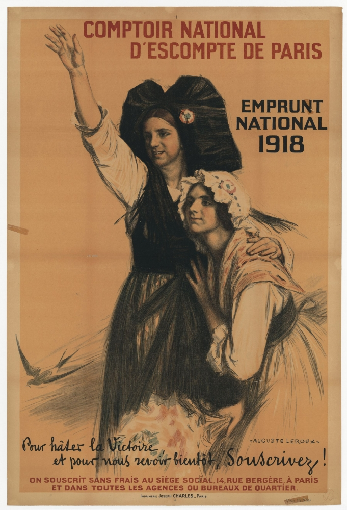 Comptoir national d'escompte de paris, emprunt national 1918