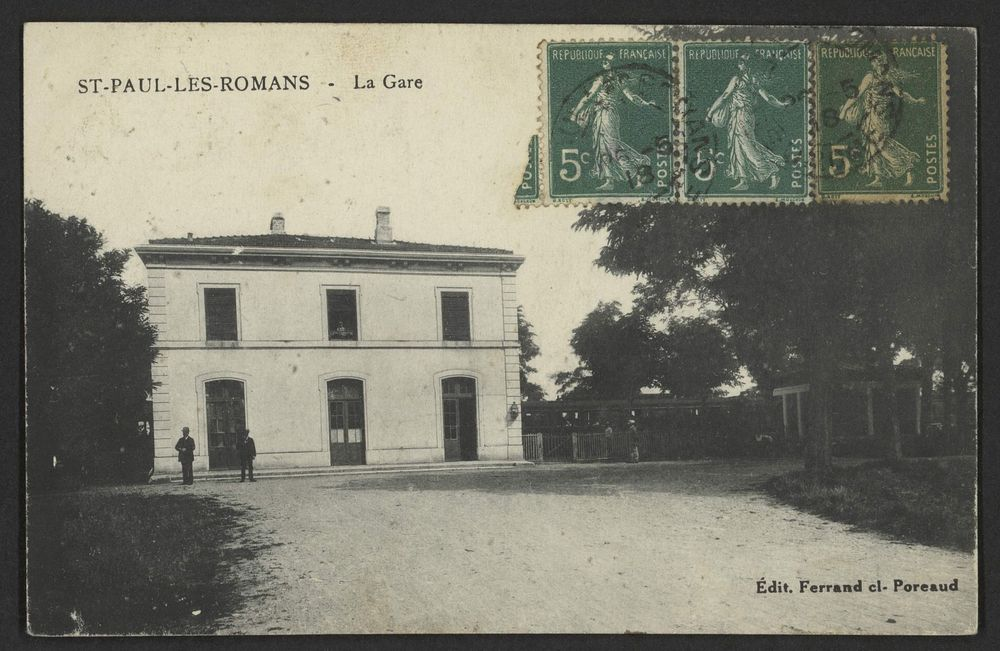 St-Paul-lès-Romans - La gare