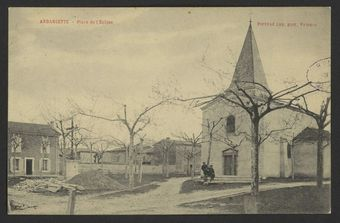 Andancette - Place de l'Eglise