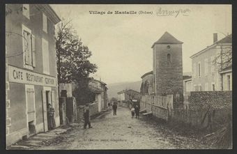 Village de Mantaille (Drôme)
