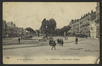 Valence - Place Madier Montjau