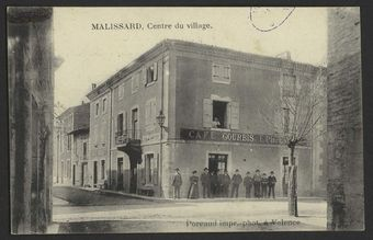 Malissard, centre du village