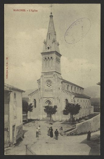 Marches - L'Eglise