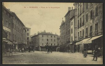 Romans - Place de la République