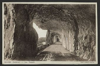 Ruoms (Ardèche) - Les Tunnels