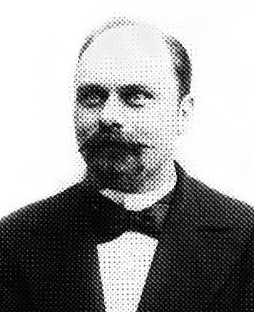 Le bourreau Anatole Deibler en 1900