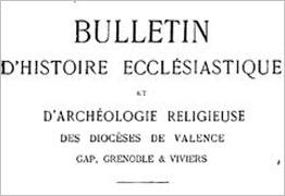 Bulletin ecclesiastique et archéologie religieuse