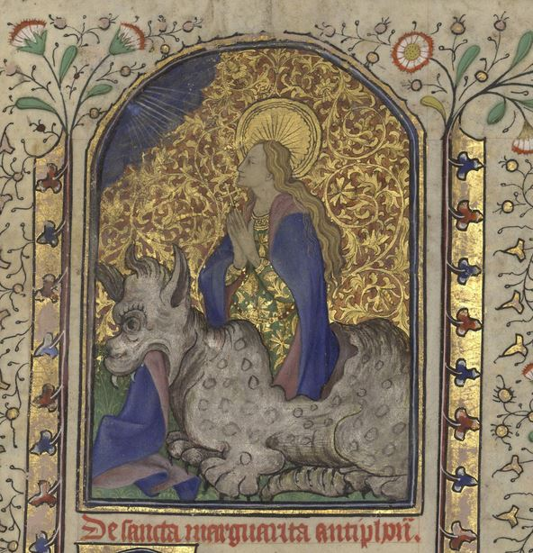 Sainte Catherine (détail)