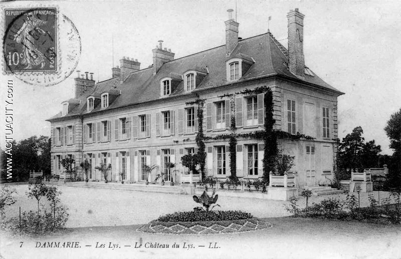 Château de Victor Latour-Maubourg à Dammries les Lys