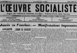 L'oeuvre socialiste
