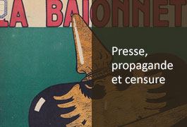 presse, propagande et censure