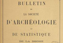 Societe d'Archeologie et de statitiques